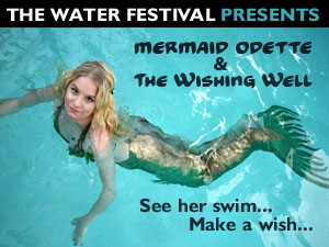 Mermaid Odette & The Wishing Well